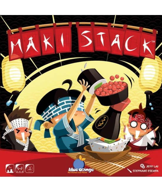 Maki Stack - joc boardgame Blue Orange