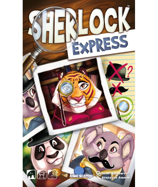 Sherlock Express - joc rapid de deducție Blue Orange