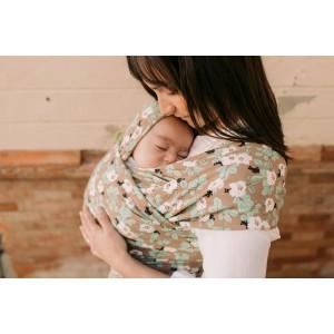 Wrap elastic pentru purtarea bebelușilor Boba Magnolia