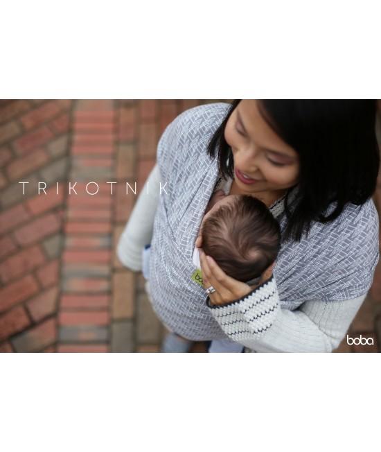 Wrap elastic pentru purtarea bebelușilor Boba Trikotnik