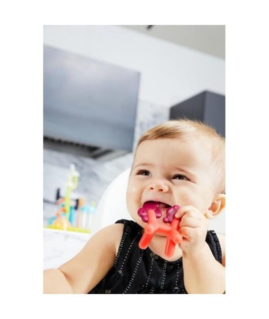 Jucărie de dentiție BOON Unicorn din silicon pentru bebeluși