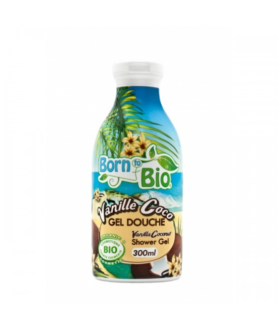 Gel de duș organic Born to Bio Vanilla Coconut
