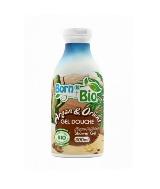 Gel de duș organic Born to Bio Argan Orient cu ulei de argan
