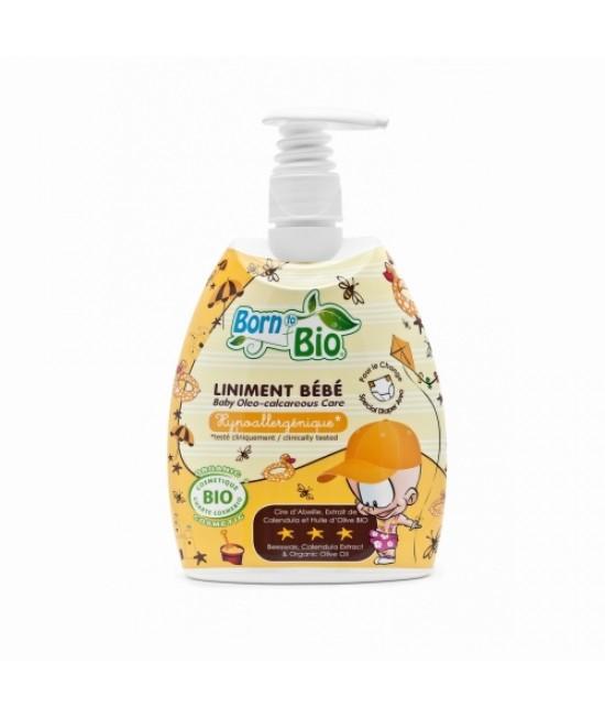 Ulei organic pentru masaj sau pentru zona scutecului Born to Bio pentru bebeluși