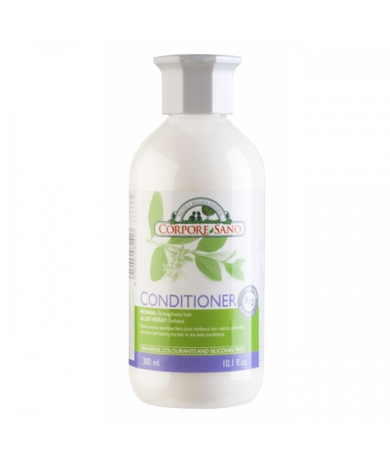 Balsam de păr natural cu Henna și Aloe Vera Corpore Sano - 300 ml