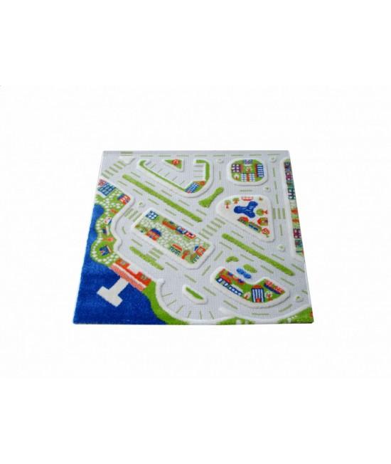 Covor de joacă pentru copii 3D - IVI MiniCity 100 x 100