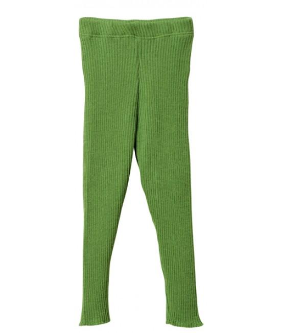 Colanți (leggings) din lână Merino organică Disana Green
