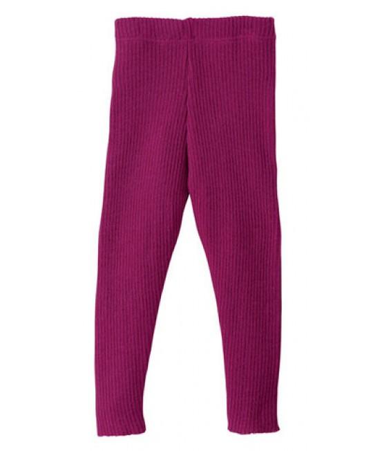 Colanți (leggings) din lână Merino organică Disana Berry