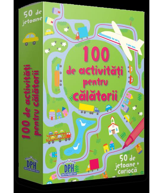 100 de activități pentru călătorii - Cartonașe Usborne în limba română
