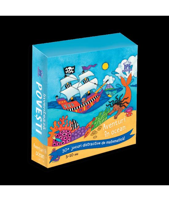Inventează povești: Aventuri în ocean - Jocuri distractive