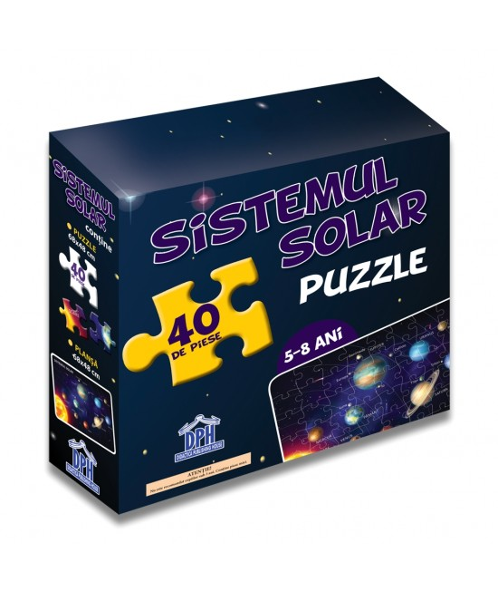 Sistemul solar (puzzle + afiș)