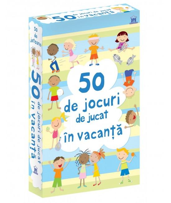 50 de jocuri de jucat în vacanță - Cartonașe Usborne în limba română
