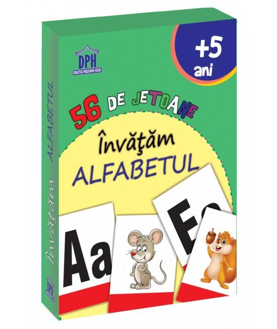 56 Cartonașe Învățăm Alfabetul