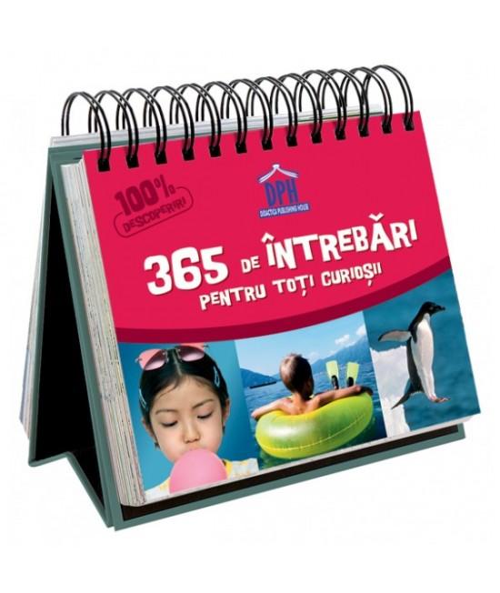 Calendar pentru copii - 365 de întrebări pentru toți curioșii