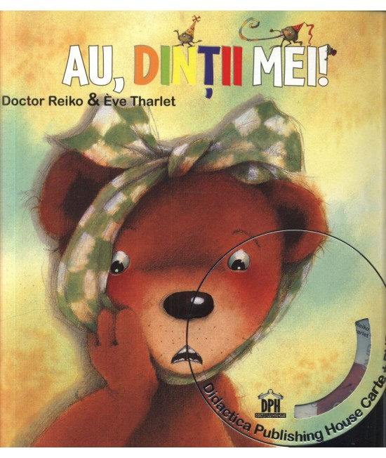 Au, dinții mei! - Doctor Reiko și Eve Tharlet (carte + DVD în 4 limbi)
