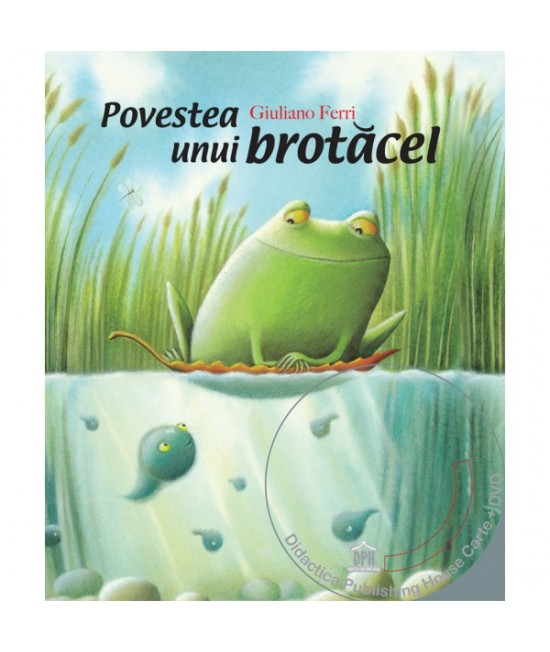 Povestea unui brotăcel - Giuliano Ferri (carte + DVD în 4 limbi)