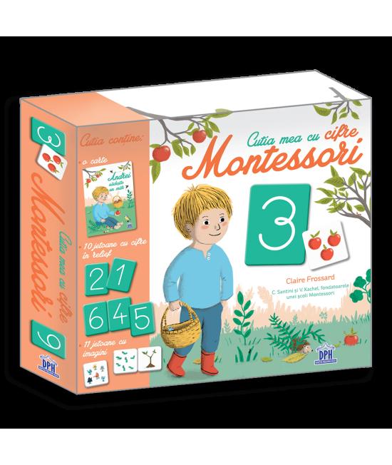 Cutia mea cu cifre Montessori - Claire Frossard, Céline Santini și Vendula Kachel