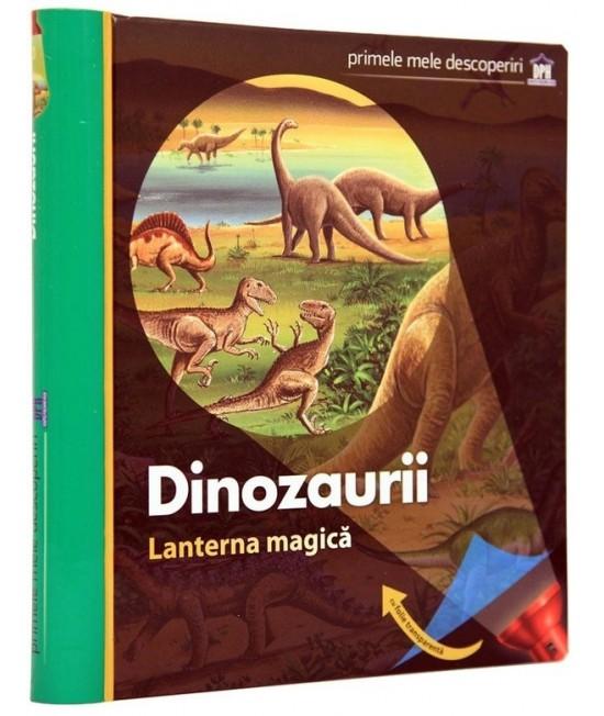 Dinozaurii. Lanterna magică. Primele mele descoperiri - Claude Delafosse, Gallimard Jeunesse și Donald Grant