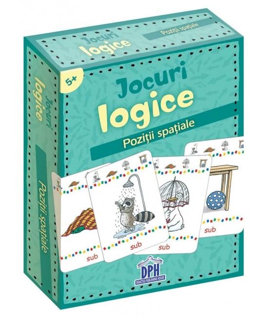 Jocuri logice - Poziții spațiale - Katrin Merle