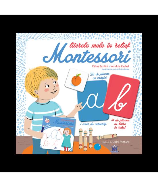 Literele mele în relief Montessori - Céline Santini și Vendula Kachel