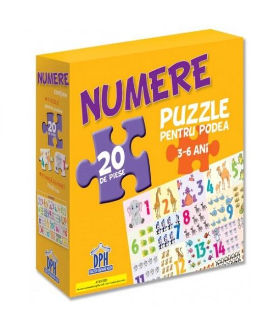 Puzzle pentru podea - NUMERELE