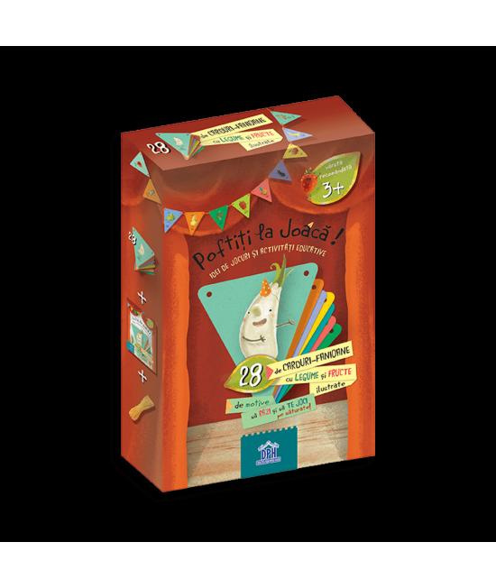Poftiți la joacă - cărți de joc cu fructe și legume - Lavinia Trifan