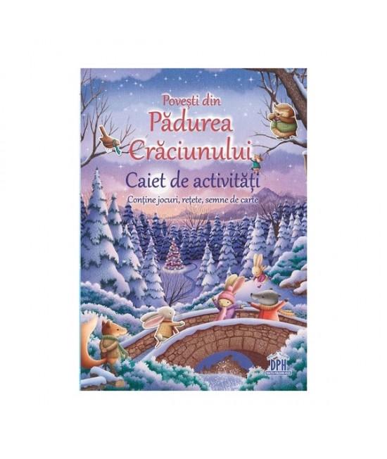 Povești din Pădurea Crăciunului - caiet de activități