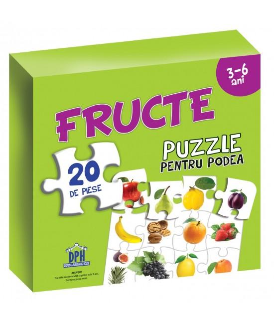 Puzzle pentru podea - FRUCTE