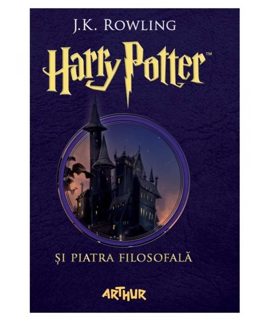 Harry Potter și piatra filosofală (volumul #1) - J.K. Rowling