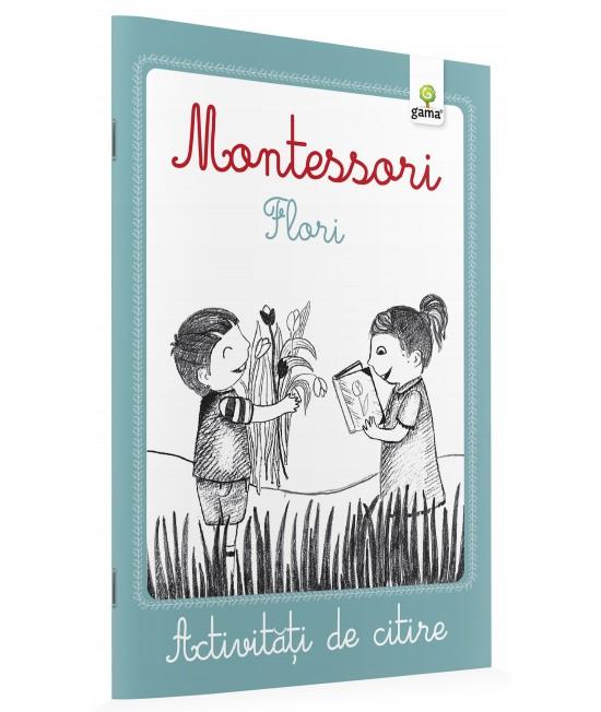 Flori - Activități de citire Montessori