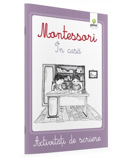 În casă - Activități de scriere Montessori