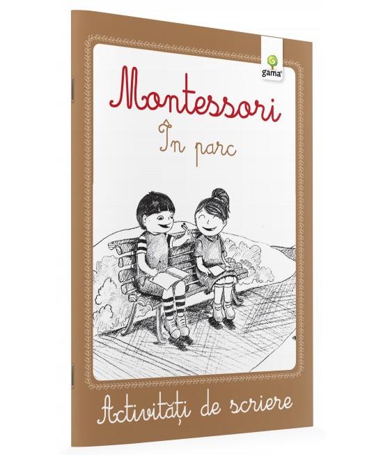 În parc - Activități de scriere Montessori