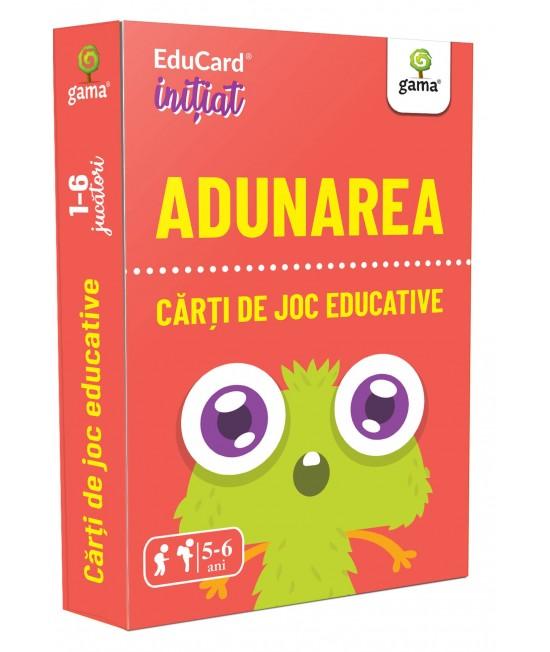 Adunarea - Cărți de joc educative - EduCard Inițiat