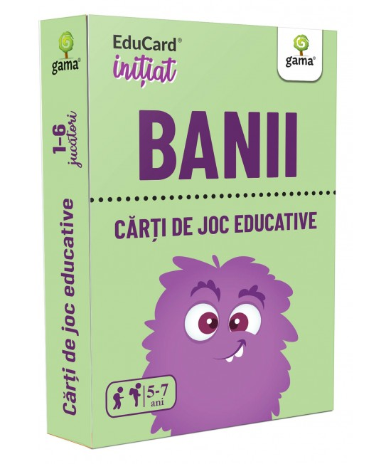Banii - Cărți de joc educative - EduCard Inițiat