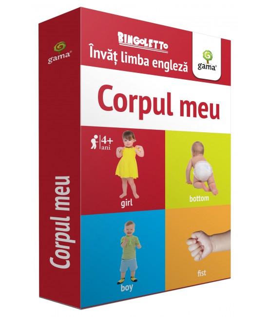 Corpul meu - Bingoletto - Învăț Limba engleză - Cărți de joc educative