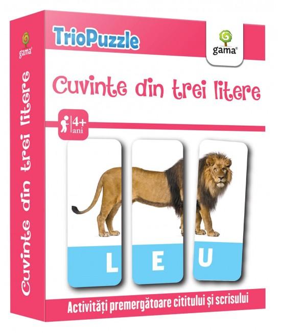 Cuvinte din trei litere - Triopuzzle