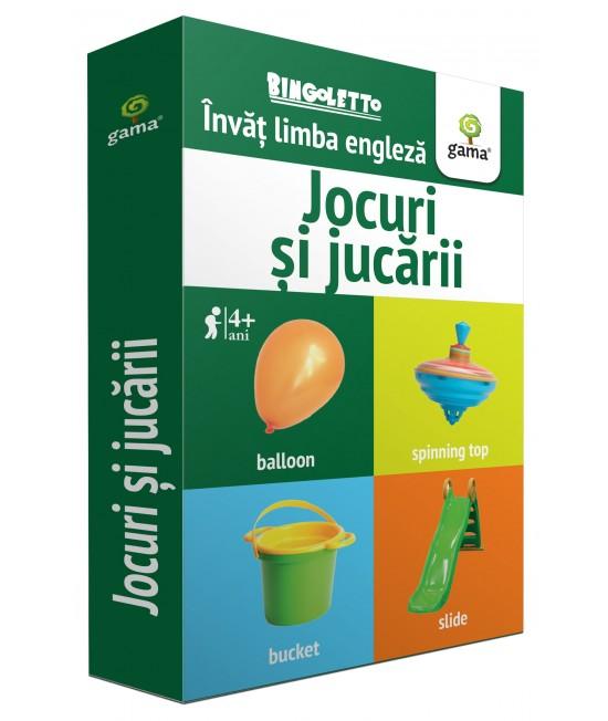 Jocuri și jucării - Bingoletto - Învăț Limba engleză - Cărți de joc educative