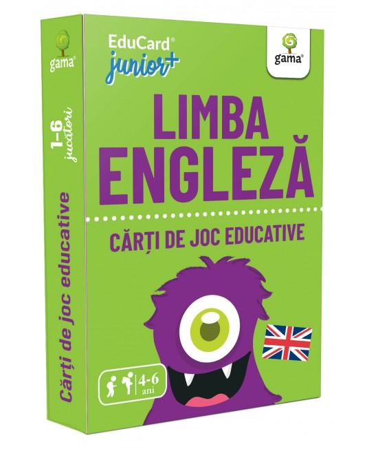 Limba engleză - Cărți de joc educative Educard