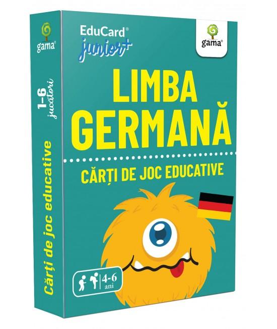 Limba germană - Cărți de joc educative
