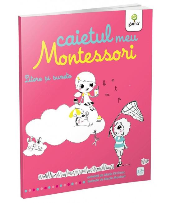 Litere și sunete - Caietul meu Montessori