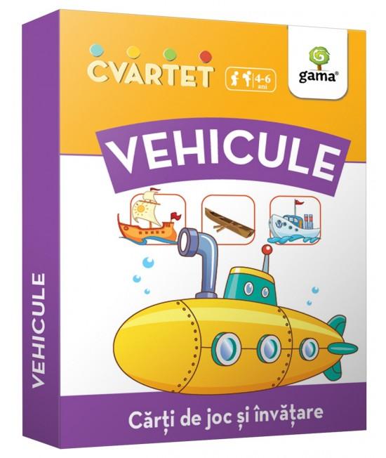 Vehicule - Cvartet - Cărți de joc și învățare