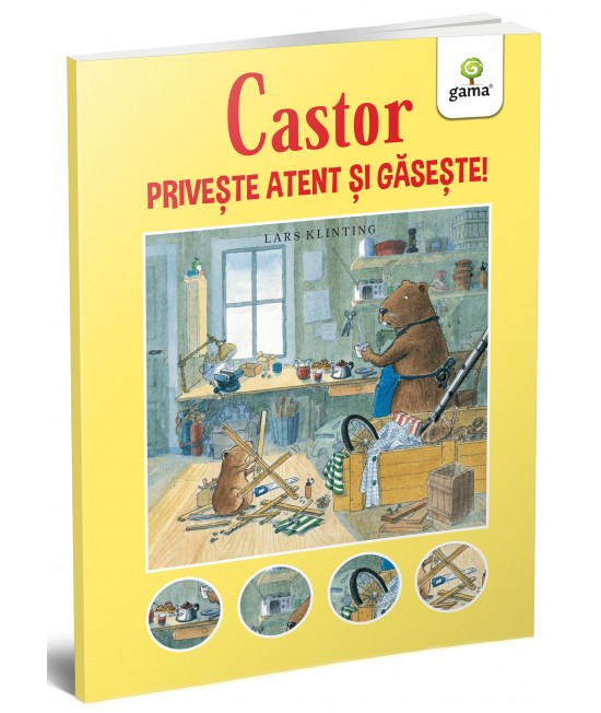 Castor: Privește atent și găsește! - Lars Klinting - colecția CASTOR