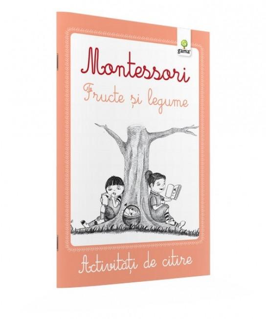Fructe și legume - Activități de citire Montessori