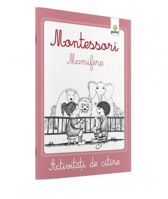 Mamifere - Activități de citire Montessori