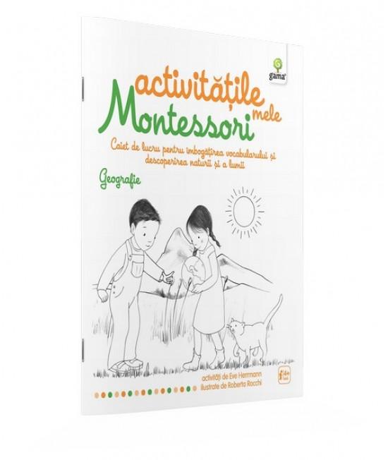 Geografie - Activităţile mele Montessori -  Ève Herrmann și Roberta Rocchi