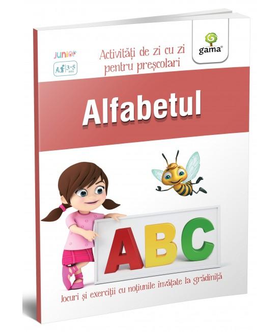 Alfabetul - Activități de zi cu zi pentru preșcolari