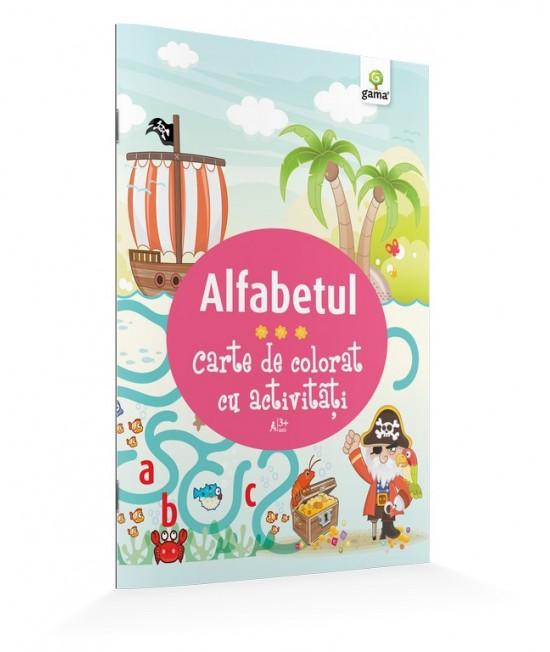 Alfabetul - Carte de colorat cu activităţi
