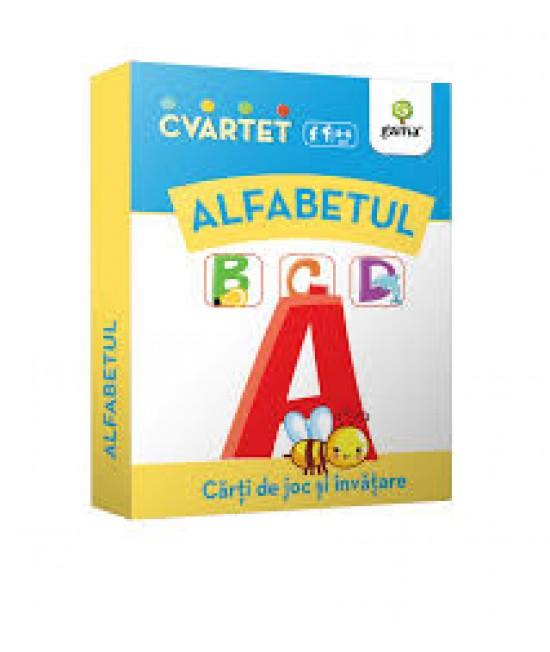 Alfabet - Cvartet - Cărți de joc și învățare
