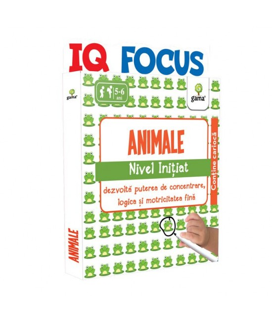 Animale • nivel Inițiat - IQ FOCUS