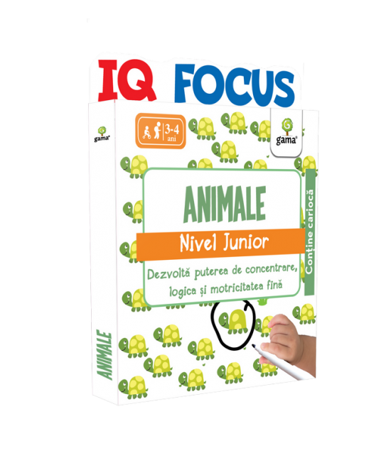 Animale • nivel Junior - IQ FOCUS